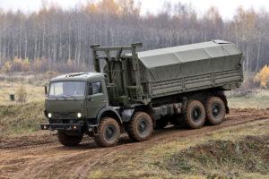 Модификации грузовых автомобилей на базе вездеходного шасси КамАЗ-63501
