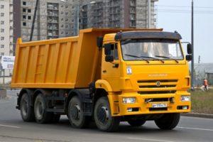Технические характеристики грузовиков собранных на шасси КамАЗ-6540