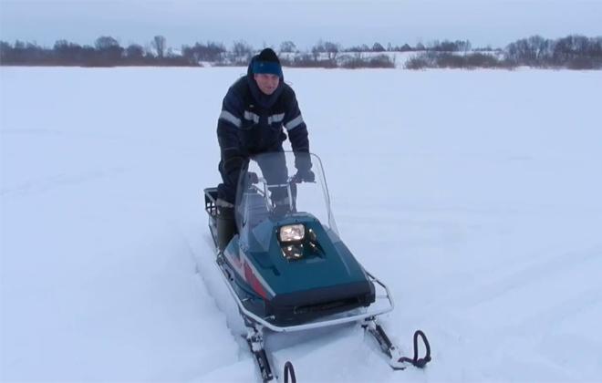 Модель агрегата для поездок на снегу