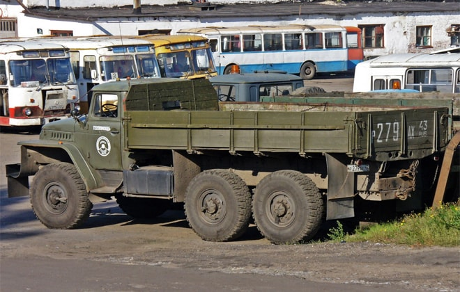 Модель грузового авто