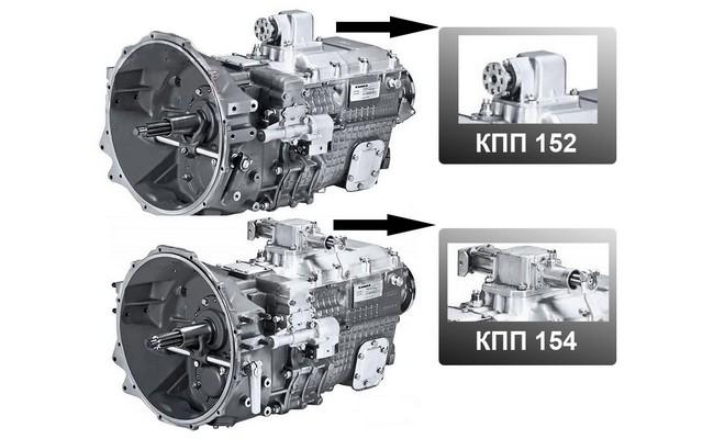 Модели 152 и 154