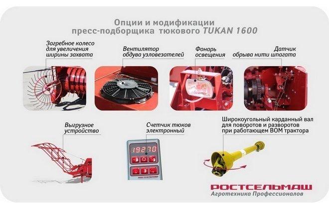Модификации оборудования Ростсельмаш