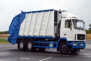 Технические характеристики и устройство мусоровоза МАЗ и его модификаций