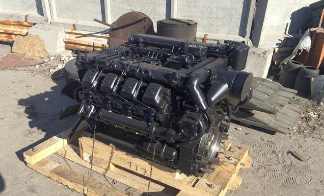 Новый двигатель 740.31-240