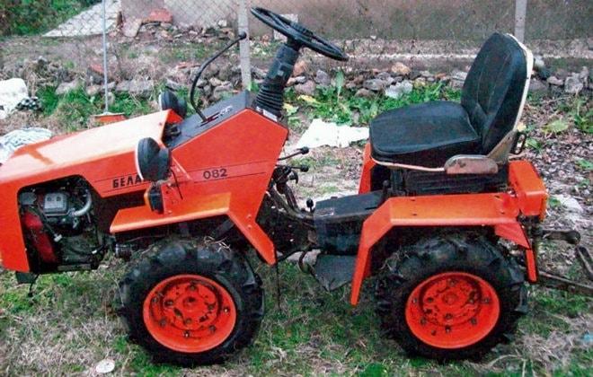 Новый трактор Беларус