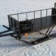 Виды и конструкция саней для снегохода и как их сделать своими руками