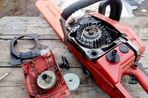Как сделать ремонт стартера бензопилы своими руками