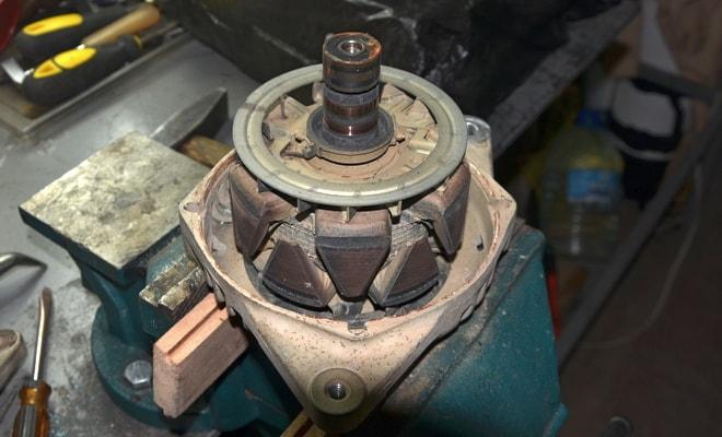 Ремонт генераторной установки