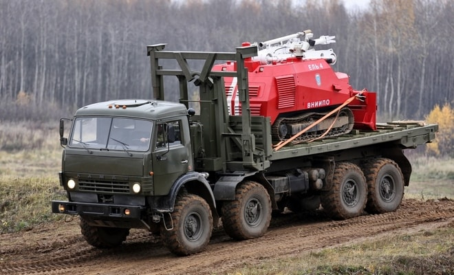 Российский грузовик