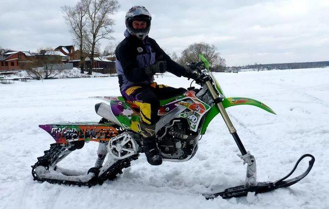 Самоделка из мотоцикла