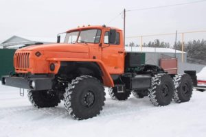 Технические характеристики и устройство автомобиля Урал-44202