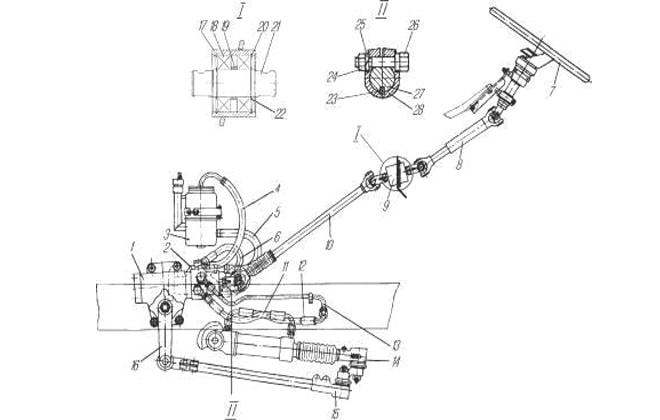 Схема детали машины