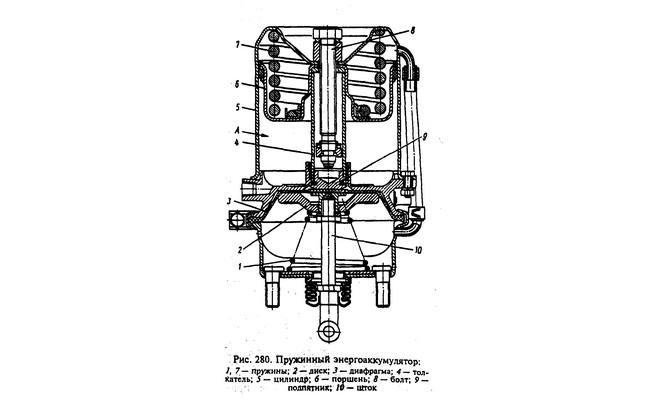 Схема энергоаккумулятора