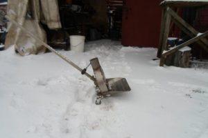 Как сделать снегоуборщик из триммера: лучшие модели насадок для уборки снега