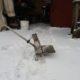 Как сделать снегоуборщик из триммера