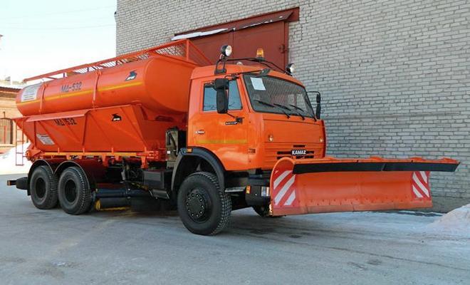 Снегоуборщик МД-532