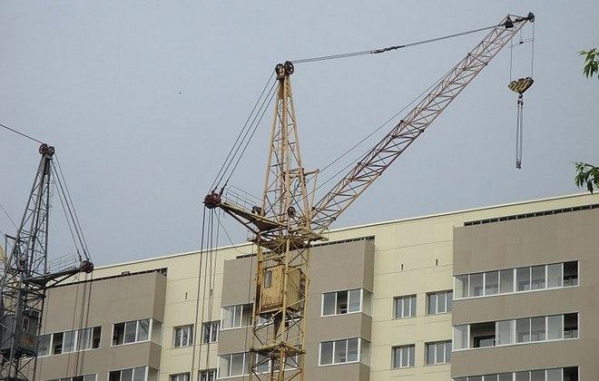 Строительство многоэтажного здания