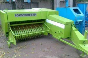 Технические характеристики пресс-подборщика К-454 марки Fortschritt (Фортшрит)