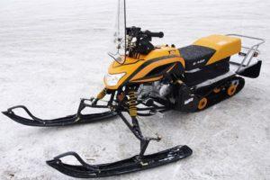 ТОП-3 модификаций снегоходов Dingo (Динго) и их технические характеристики