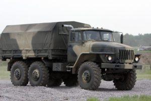 Характеристики военной модели автомобиля Урал и его деталей