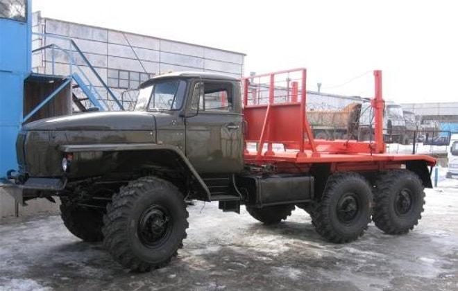 Уральский сортиментовоз