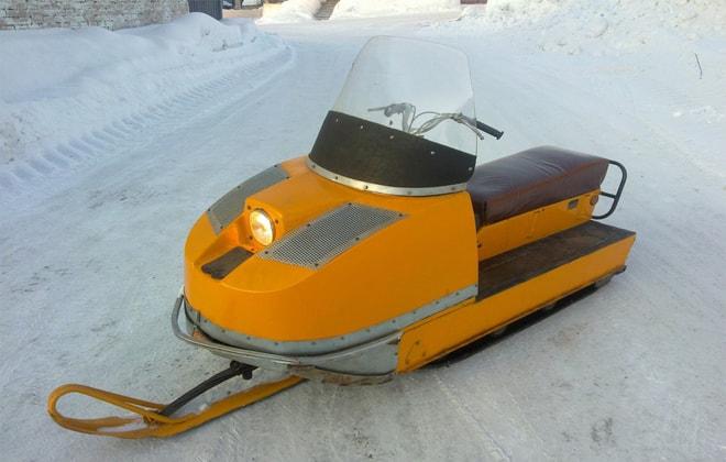 Устройство для езды на снегу