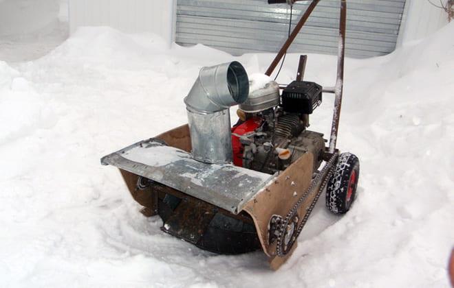Устройство для зимнего сезона