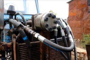 Как самостоятельно переделать на МТЗ рулевое на дозатор
