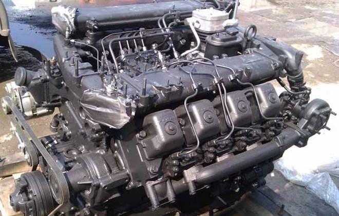 6-цилиндровый двигатель Mercedes