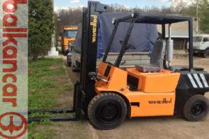 Технические характеристики дизельных и электрических болгарских погрузчиков