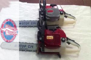 Характеристики ТОП-2 популярных моделей бензопил Мотор Сич 270 и 475