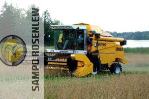 Достоинства дешевых зерноуборочных комбайнов Сампо (Sampo) 130 и 500