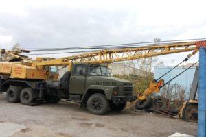 Устройство и характеристики автокранов КрАЗ-250 и 257