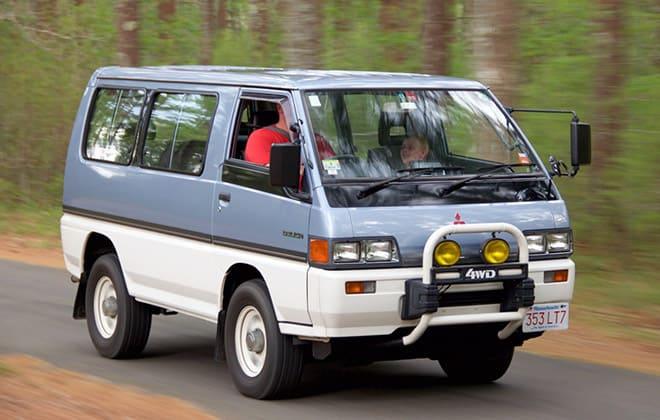 Аналог УАЗ 2206 - Mitsubishi Delica