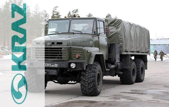 Армейский автомобиль КрАЗ-260