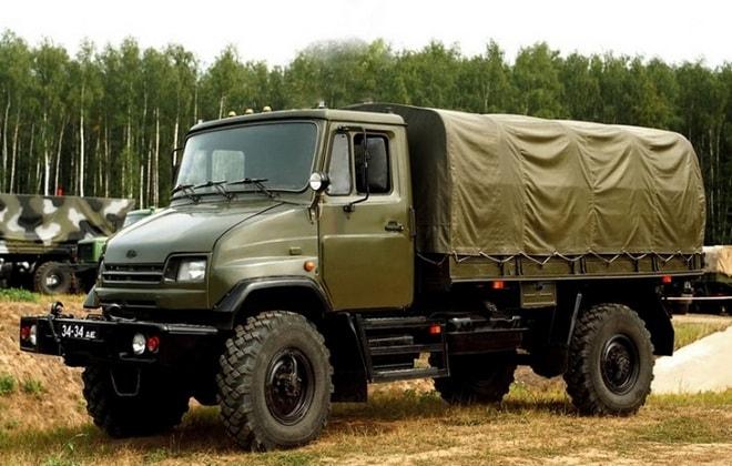 Армейский грузовик 4327