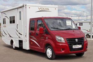 Цены и характеристики автодома (кемпера) на базе ГАЗель Некст