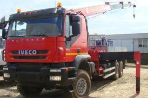 Технические характеристики эвакуатора-манипулятора Ивеко (Iveco)