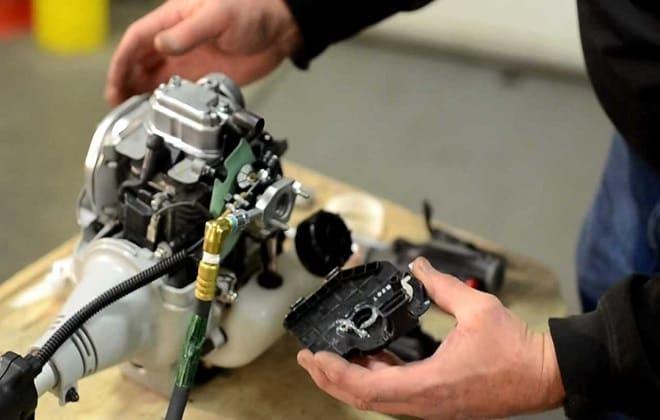 Двигатель газонокосилки