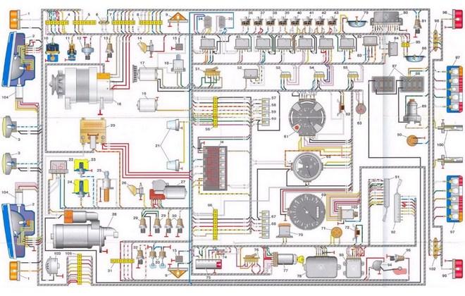 Электрическая схема 5301