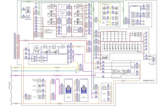Электрическая схема ТМ 10
