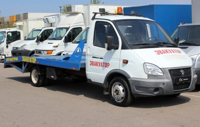 Эвакуатор на шасси ГАЗ-3302