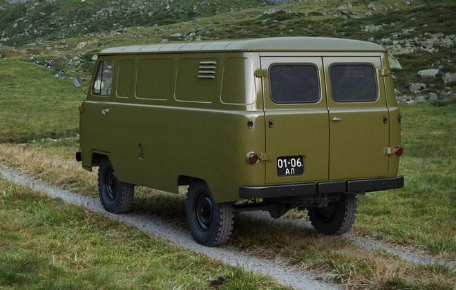 Фургон 451М
