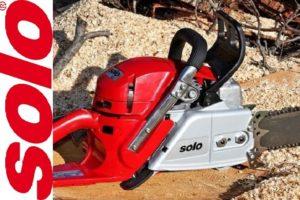 Устройство и характеристики бензопилы Solo 681 (Соло) германского производства