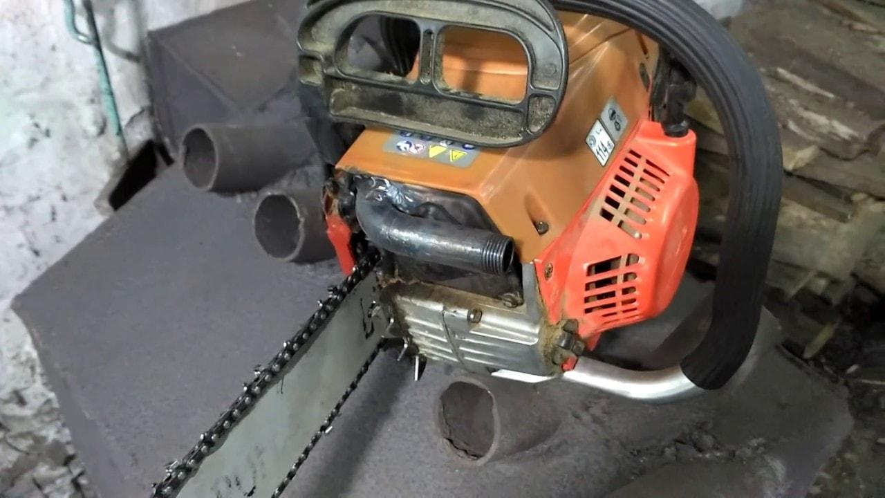 Глушитель для бензопилы
