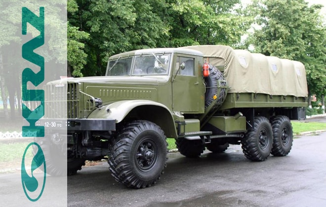 Грузовик КрАЗ-214