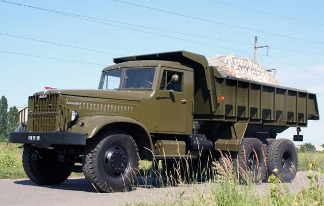 Грузовик КрАЗ-219