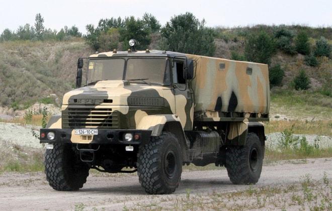 Грузовик модели 5233