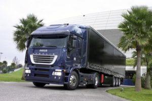 Итальянские магистральные тягачи Iveco Stralis