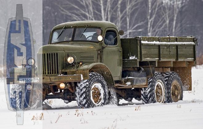 Грузовое авто ЗИЛ-157